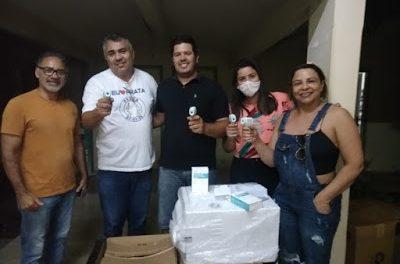 Prefeitura de Prata adquire novo aparelho de esterilização autoclave para o Hospital. Outros equipamentos também são adquiridos.