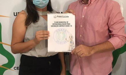 Plano Municipal de Operacionalização para Vacinação contra a Covid-19 já está preparado pela Secretaria de Saúde de Prata