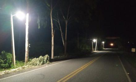 Prefeitura de Prata revitaliza iluminação do portal da cidade e diversos pontos na cidade