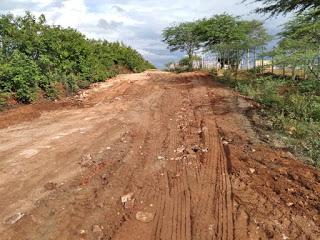 Continua o trabalho de recuperação das estradas vicinais do município atingidas pelas chuvas