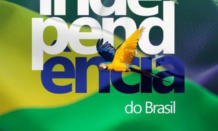 07 de setembro a Independência do Brasil